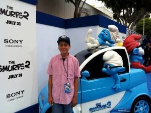 Smurfin' Smart Cars