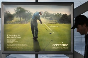 Accenture took their green with them
