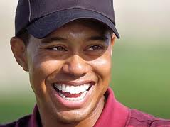 When Tiger smiles, the world smiles with him
