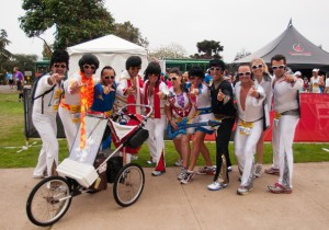 Maybe you haven't really raced if you haven't raced as Elvis!