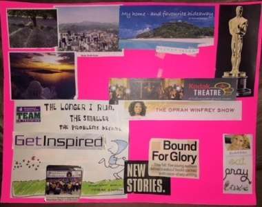 My first vision board ever
