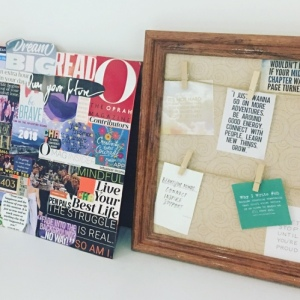 Two varieties of vision boards