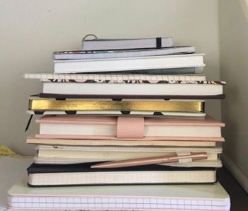 My pile of journals!