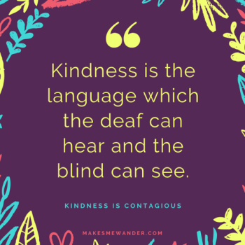 Self-care A to Z challenge: Kindness